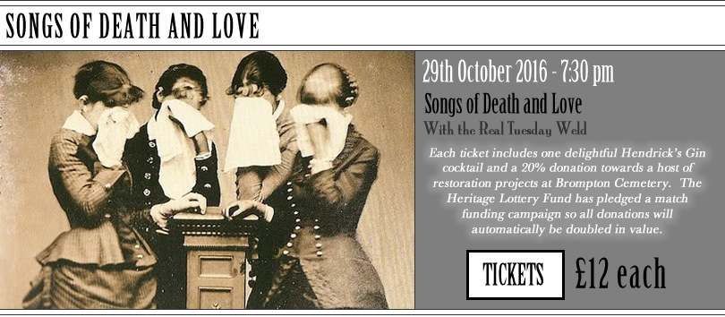 Songs of Death and Love with the Real Tuesday Weld