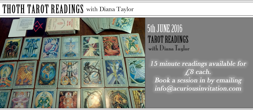 Tarot readings with Diana Taylor