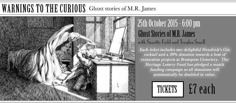 Warnings to the Curious Ghost Stories by MR James