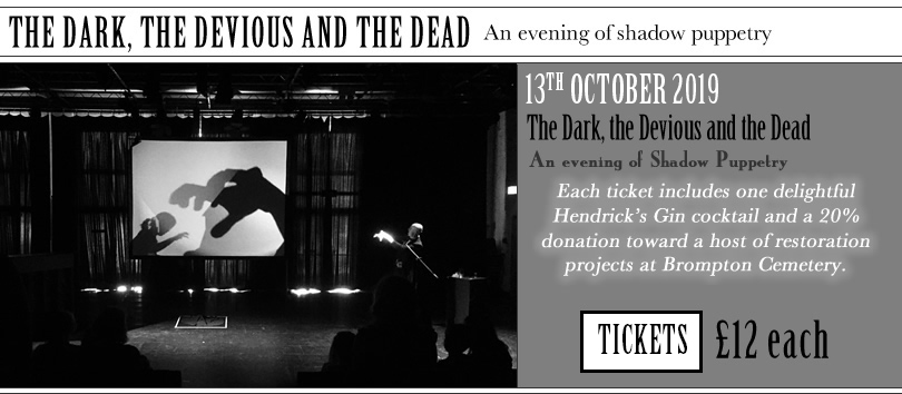 London Month of the Dead - The Dark, the Devious and the Dead