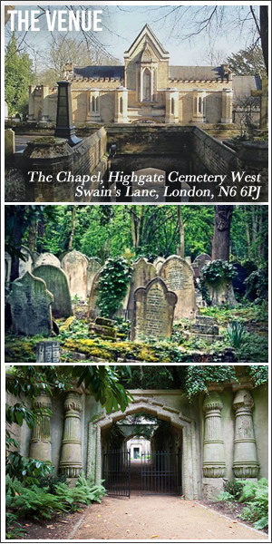 The Venue - Highgate Cemetery